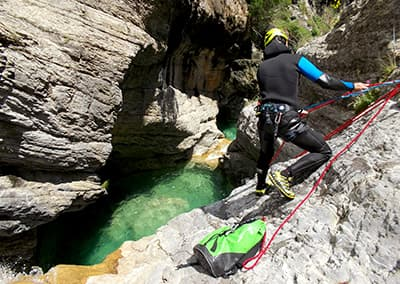 Canyoning in Ligurie