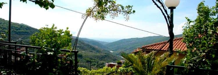 Vakantie in een Agriturismo in Ligurië, in een oude olijfmolen