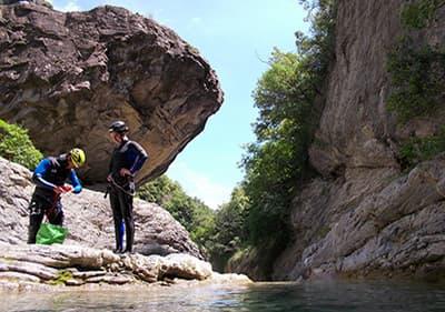 Canyoning in Ligurië – beleef de wildernis en verover mooie watervallen