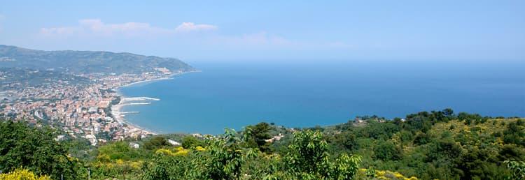 De Villetta Meravigliosa vakantiewoning met een prachtig uitzicht op zee met uitzicht op de Ligurische kust