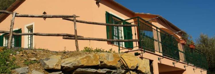 Vrijstaand vakantiehuis in Ligurië, direct van de eigenaars, op een rustige locatie en naast het strand
