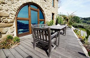 Villa Callas, an extravagant holiday home overlooking the sea in Liguria, with a sun terrace