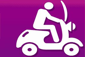 QuaDTeca Scooter verhuur in Ligurië