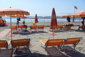 Bagni Europa Stranden in Ligurië