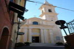 Chiesa delle Parrocchiale Kerken in Ligurië