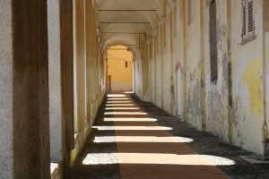 Logge di Santa Chiara Kerken in Ligurië