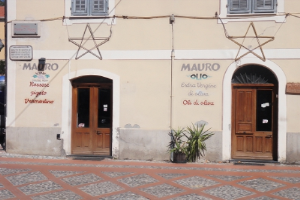 Mauro Vini slijter in Ligurië