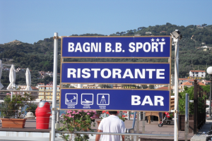 Bagni B.B. Sport Stranden in Ligurië