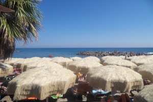 Baia Salata Stranden in Ligurië