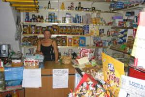 Girardi Kruidenierswinkel in Ligurië