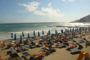 Bagni Rio Sol Stranden in Ligurië