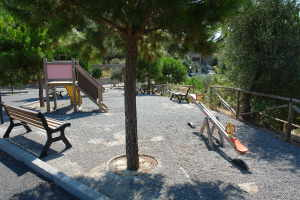 Moltedo Speelplaats in Ligurië
