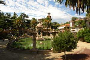 Villa Grock Musea in Ligurië