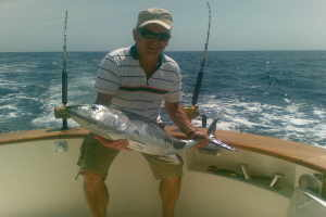 Blue Water fishing Angeln in Ligurië
