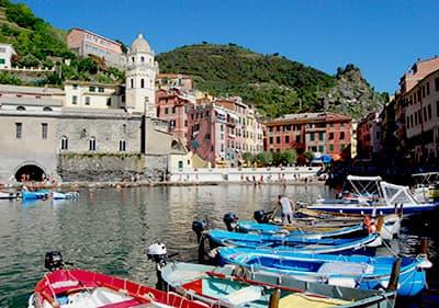 Boottocht in Vernazza, Cinque Terre