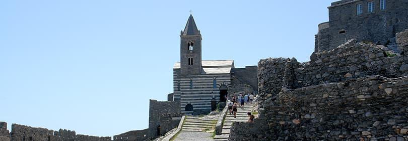 Castello di Portovenere in Ligurien