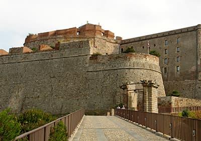 Castello Priamar in Savona, Liguria