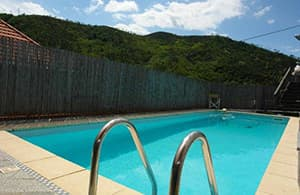 Nicely furnished holiday home with a heatable pool for private use in Liguria