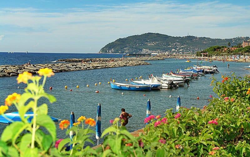 A beautiful little port of Cervo