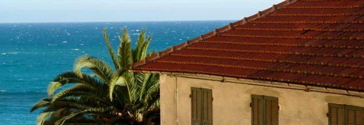 Vakantiehuis met uitzicht op de zee in het hart van Cervo in Ligurië