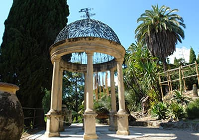 De Hanbury Gardens in Ligurië
