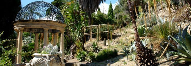 Botanische Tuinen Hanbury in Ligurië