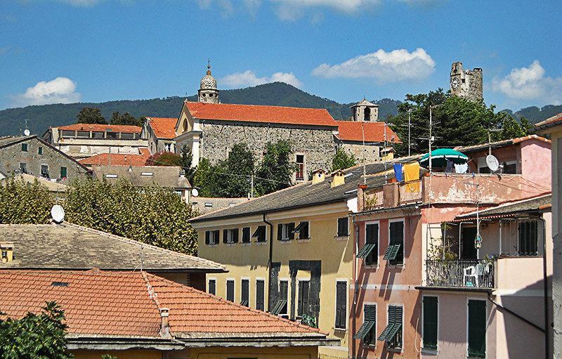 Kleurrijke huizen in Levanto