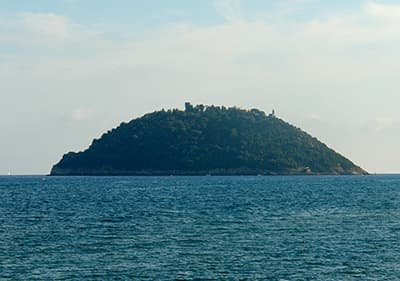 Isola Gallinara in de buurt van Albenga