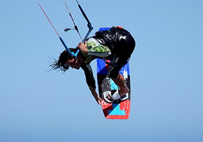 Kite Surfen in Ligurie