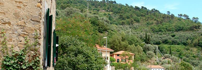 Montegrazie in Ligurien