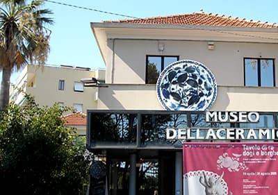 Keramisch museum in Albisola, Ligurië