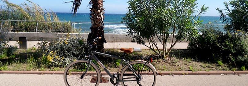Geniet van de Pista Ciclabile fietspad langs de Ligurische kust, dat is 26 km lang