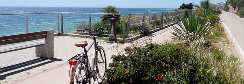 Pista Ciclabile, de 26 km fietspad langs de Ligurische kust