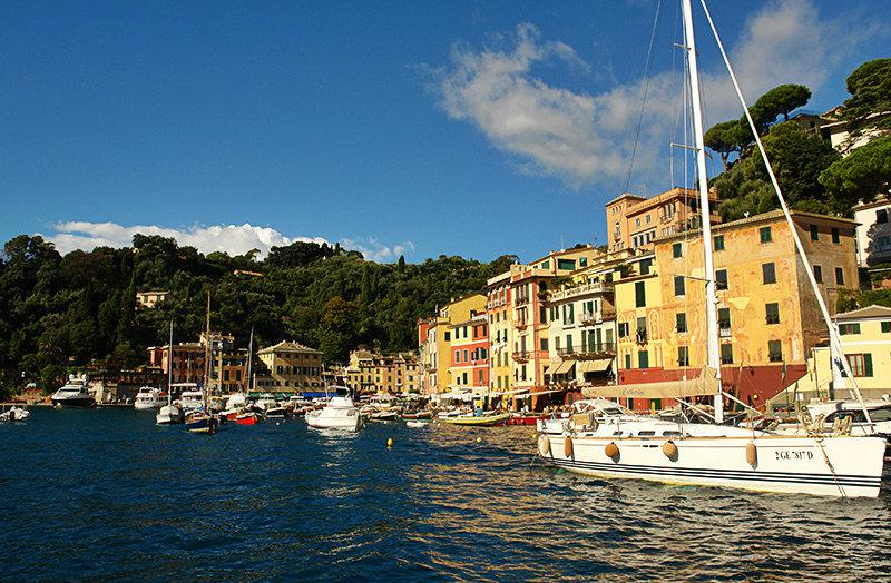 De prachtige haven van Portofino