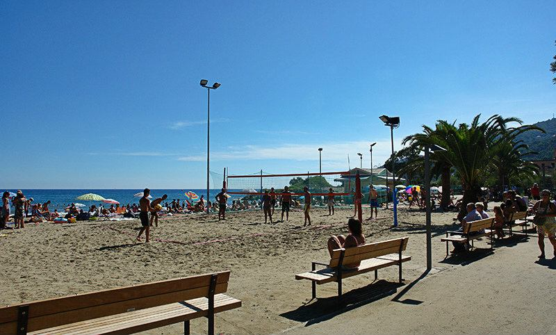 Beach Volleyball in Andora