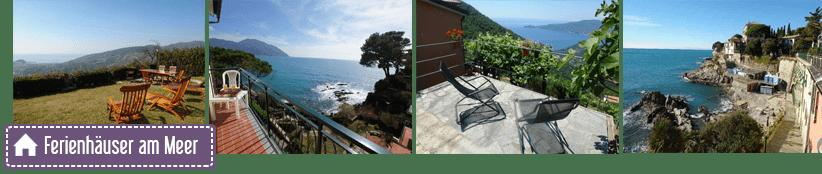 Vakantiehuizen en verhuur in de provincie Genua