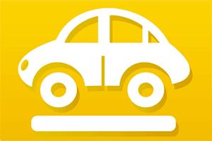 Logo for car rental