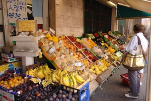 Pria Market Kruidenierswinkel in Ligurië