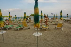 Bagni Cardona Stranden in Ligurië