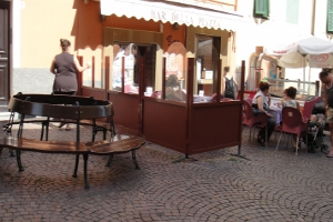 Bar della Piazza Cafes in Ligurië