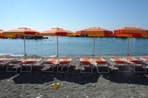 Bagni Nino Stranden in Ligurië