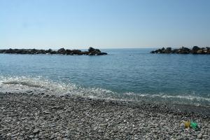 Chiavari Gratis stranden in Ligurië