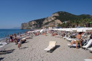 Bagni Vittoria Stranden in Ligurië