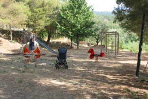 Evigno Speelplaats in Ligurië