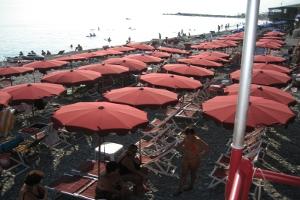 Marina Beach Stranden in Ligurië