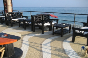Kukua Happy Beach Stranden in Ligurië