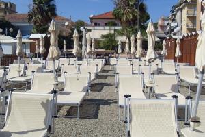 Bagni Il Faro Stranden in Ligurië