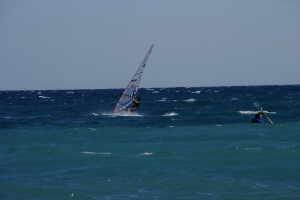 Bagni La Scogliera Windsurfen in Ligurië