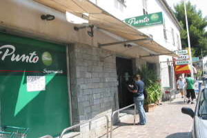 Punto Kruidenierswinkel in Ligurië
