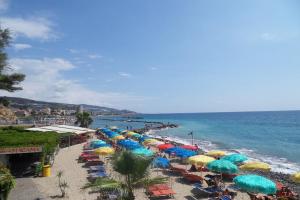 Magama Stranden in Ligurië